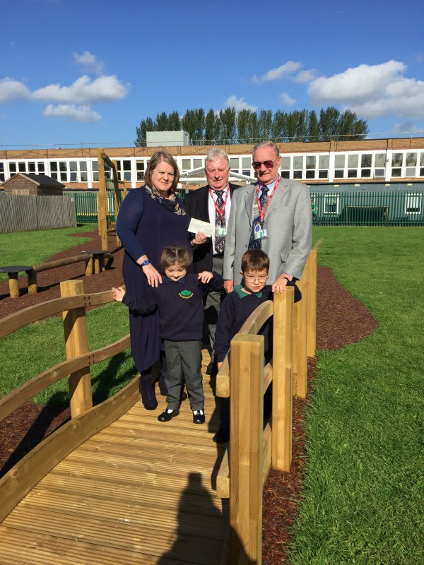 Five Acre Wood School: A Visit From Kent Golf Captains