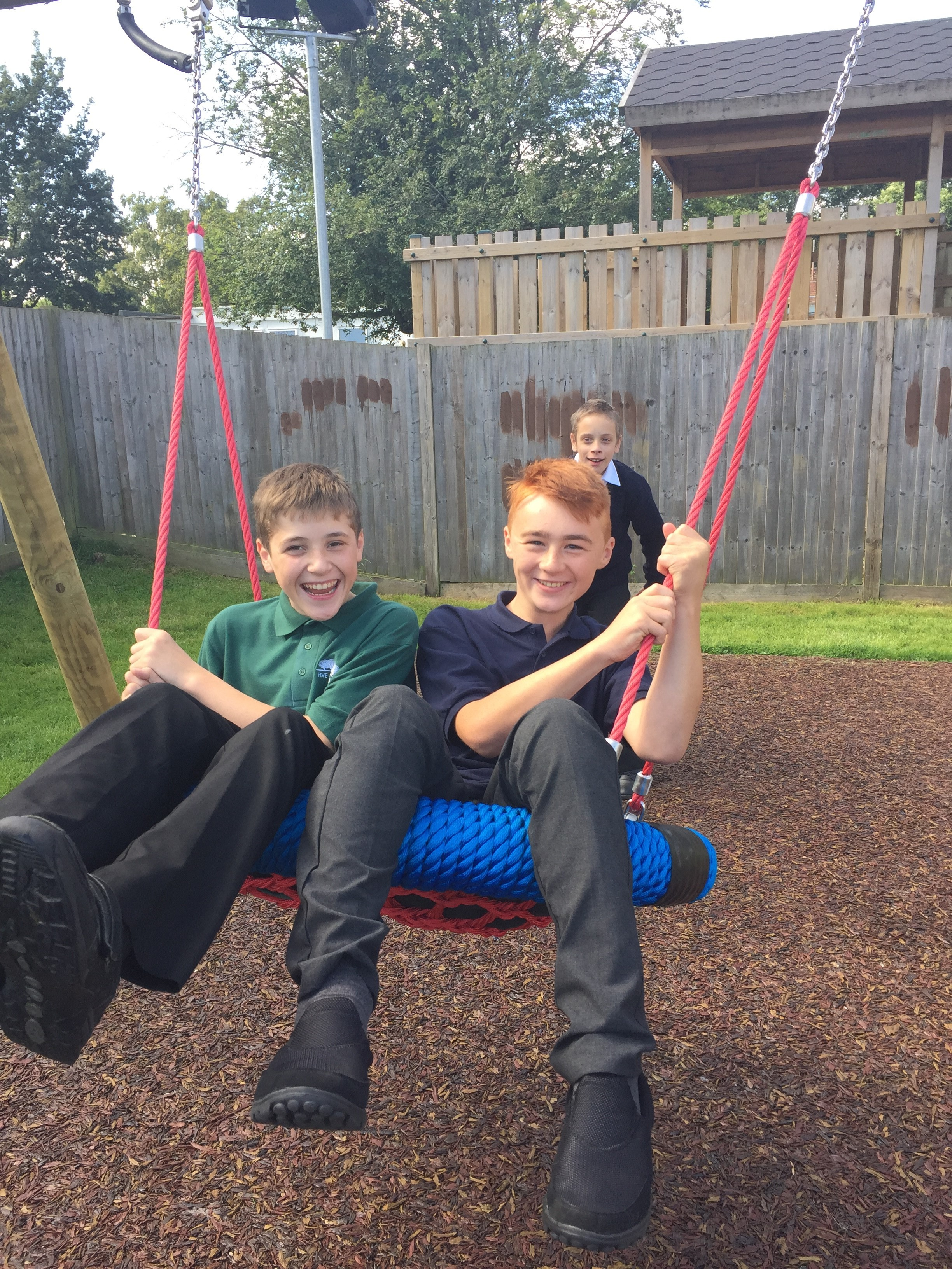 Five Acre Wood School: New Play Equipment For Students