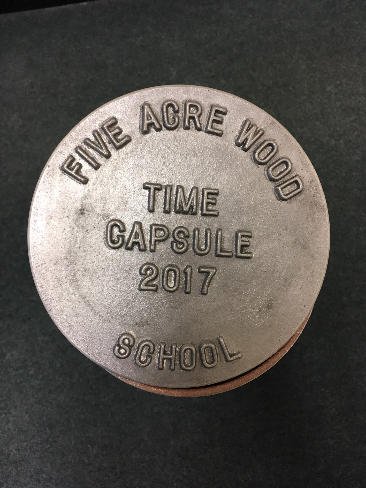 Time Capsule Definition Meaning: Five Acre Wood School